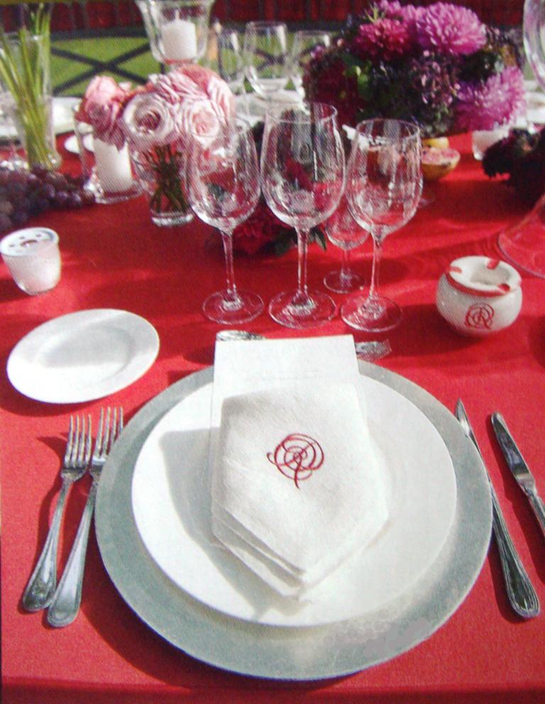 Manteles servilletas para eventos bodas flordeasoka - Tipos de manteles ...